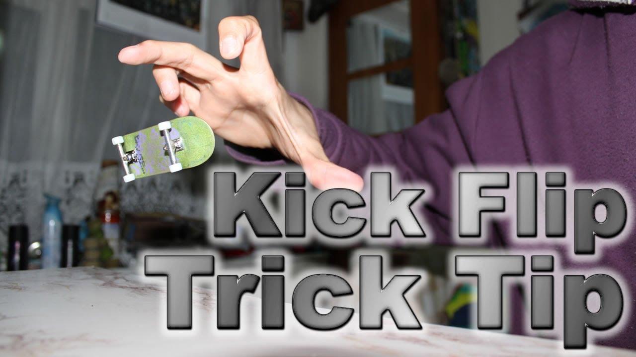 Fingerboard Trick Tip - Kickflip