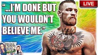 🔴 Mcgregor Tells Us He Is Retired  Bellator 224 Budd Vs Rubin Live Fight Reaction  Mma News