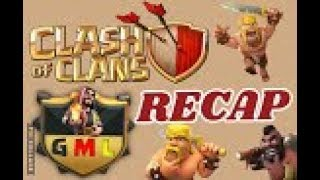 Clash of Clans // GML-Trial League // RECAP // 1. Match : drachenfeuer (German Legends) vs NRWKloppa