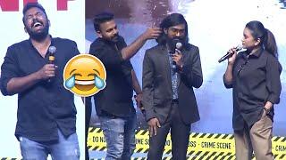 Anchor Suma Making Hilarious Fun With Tharun Bhascker and Rahul Ramakrishna   Manastars