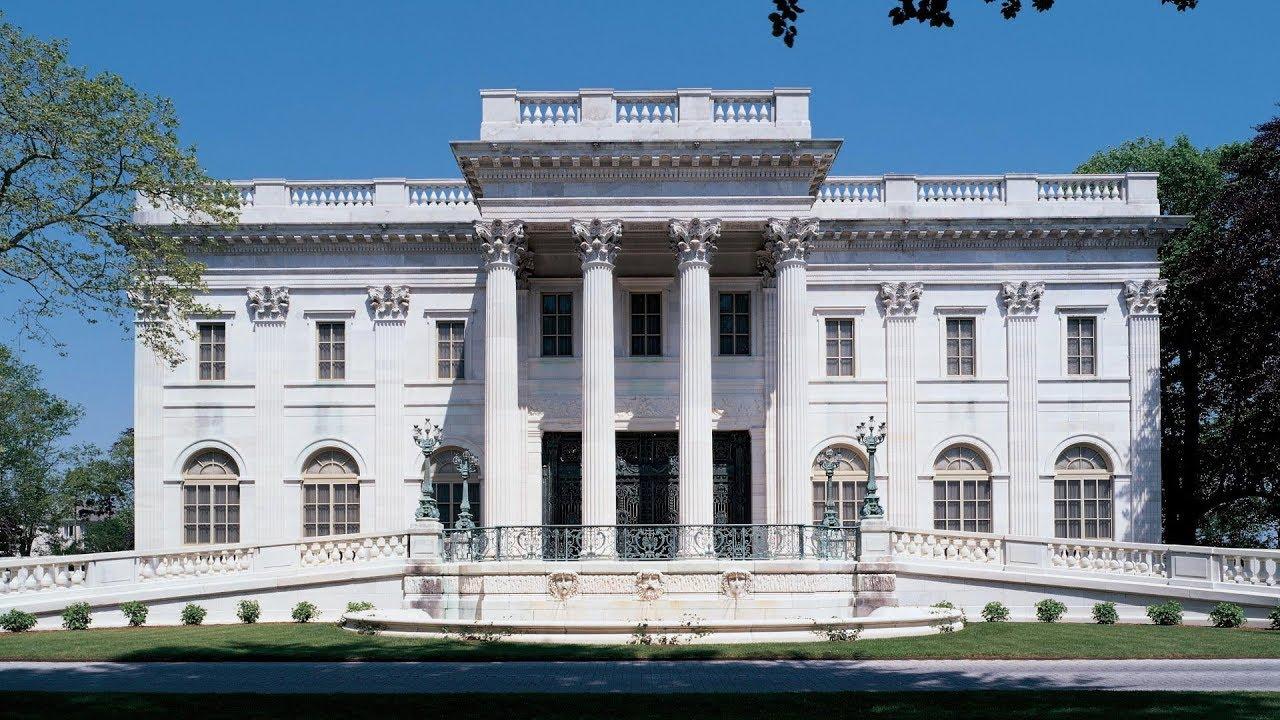 The Vanderbilt S Mansion Breakers Newport Rhode Island