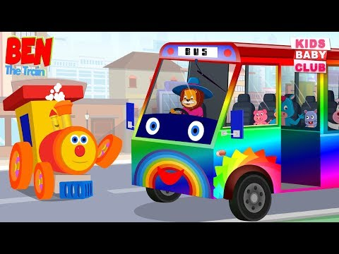 KBC | Ben the train | wheels on the bus | Nursery Rhymes For Kids | Videos for kids
