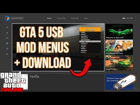 How To Install GTA 5 USB Mod Menus On Xbox One, PS4, Xbox 360, PS3, & PC! | (GTA 5 Mods) NEW 2019!