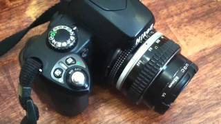 Using An Older Lens On A Nikon D40x