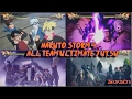 Naruto Storm 4 All Team Ultimate Jutsu Linked Secret Techniques Inc DLC Boruto English
