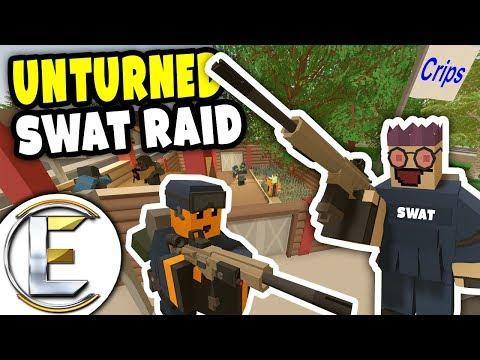 TACTICAL SWAT RAID | Unturned Gang RP - Raiding A Big Gang Base (Roleplay)