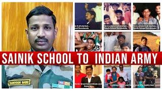 Colonel Santhosh Babu Life Journey  Photos | Sainik School to  Indian Army | Top Telugu TV