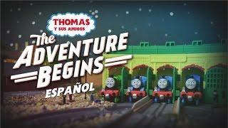THOMAS OBTIENE SU LÍNEA SECUNDARIA! | Thomas & Friends: La Aventura Comienza [Clip Remake Spanish]