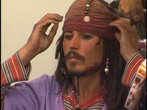 Becoming Captain Jack- Pirates of the Caribbean 1 special features