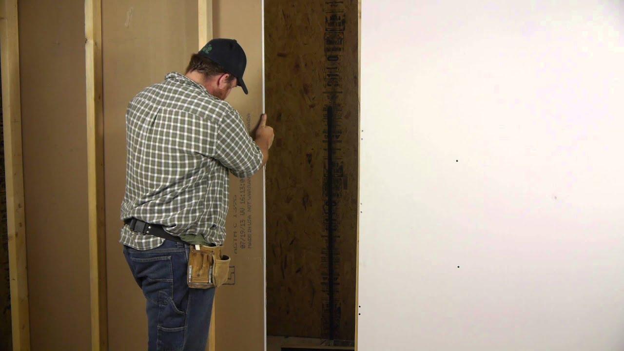 How to cut through a drywall wall