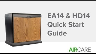 EA 1407, HD 1407 & HD 1409 Quick Start Guide - Essick Air