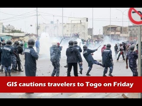 News in brief August 24, 2017. GIS cautions travelers to Togo on Friday