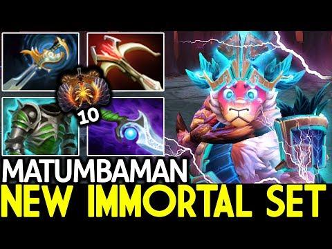 Matumbaman [Monkey King] New Immortal set 24 Kills 7.21 Dota 2 thumbnail