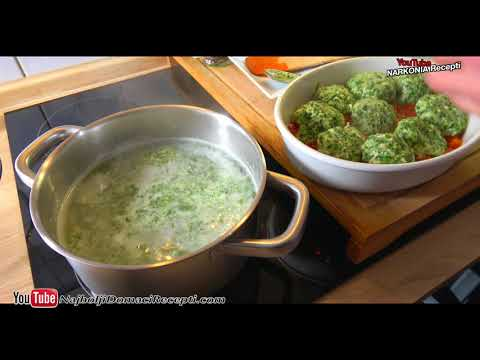 odlične knedle od spanaća u paradajz sosu recept