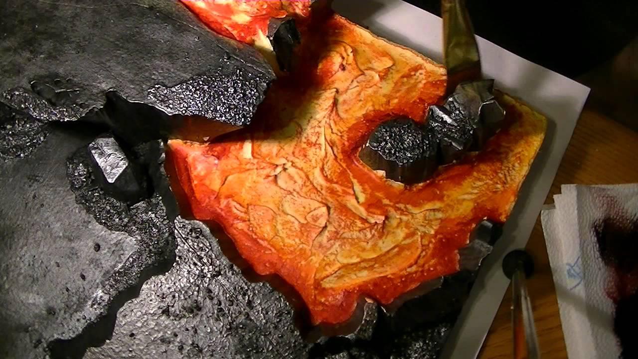Making Lava Paint Part2 Youtube