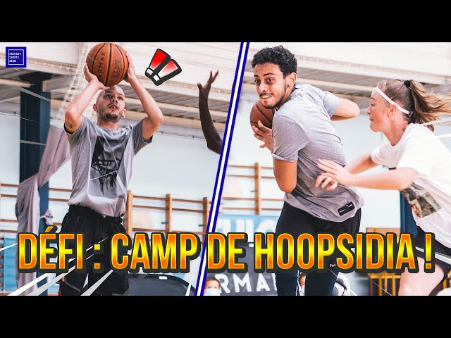 ILS ME DÉFIENT AU CAMP HOOPSIDIA 🏀 (FT. ROOKICKS)
