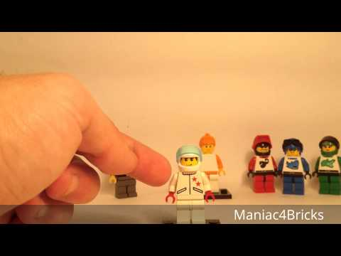 Custom Minifigures: Stunt Rally Opponent Racers!