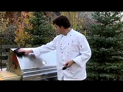 Lynx BBQ Grills Cleaning Video