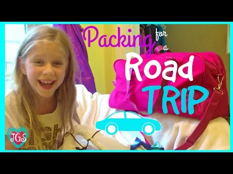 Packing for a road trip tips traveling with kids | Bag packing ideas & essentials | Jazzy Girl Stuff