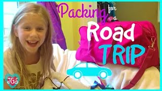 Packing for a road trip tips traveling with kids | Bag packing ideas & essentials | best friends