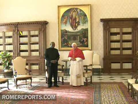 Pope receives President of Suriname, Runaldo Ronald Venetiaa