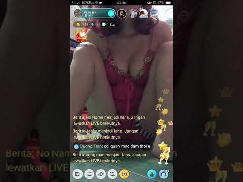 Bigo live : tante vetn  udah gak tahan