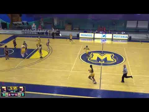 Monroe College Mustangs Men's Basketball vs. County College of Morris