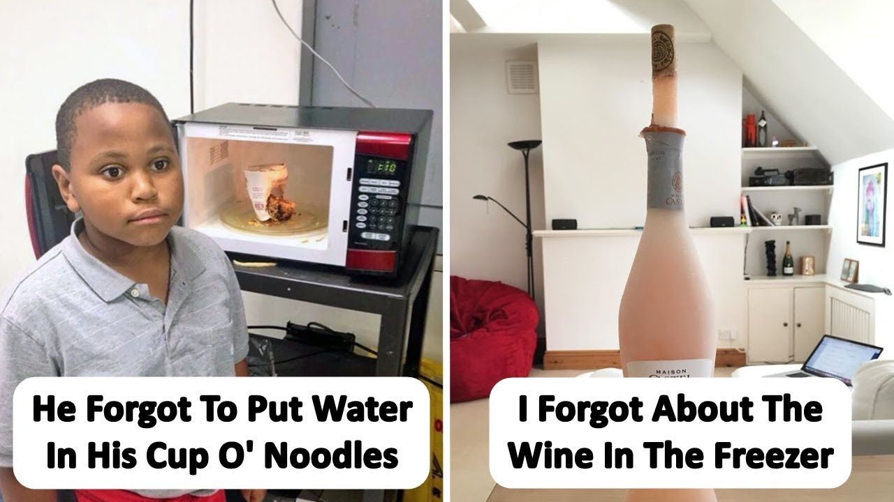 Times People Forgot Something And Faced Hilariously Awful Consequences