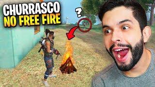 COMO?!? USEI O NOVO ITEM FOGUEIRA DO FREE FIRE MAS OS INIMIGOS ME TROLLARAM!