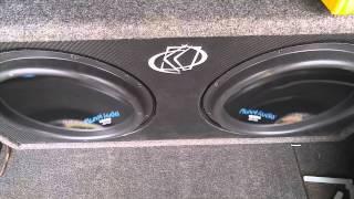 planet audio 1800w 1800w 750w rms sub testing