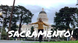 SACRAMENTO - TRIP to the CALIFORNIA STATE CAPITOL - vlog 2019