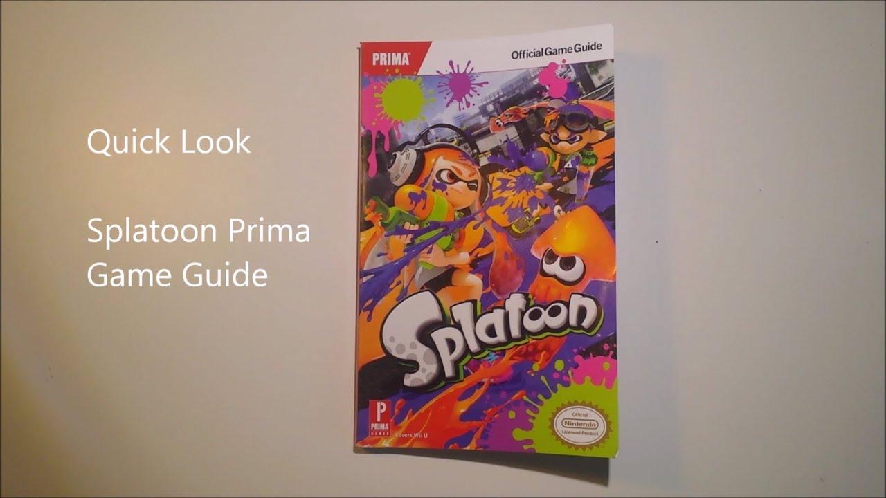 Splatoon Prima Guide Pdf