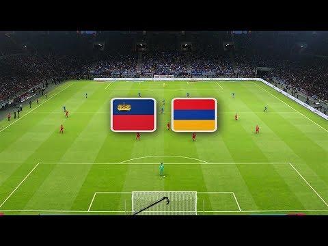 Лихтенштейн - Армения обзор матча сборных