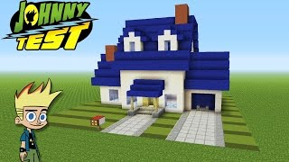"Minecraft Tutorial: How To Make ""Johnny Tests"" House ""Johnny Test"""