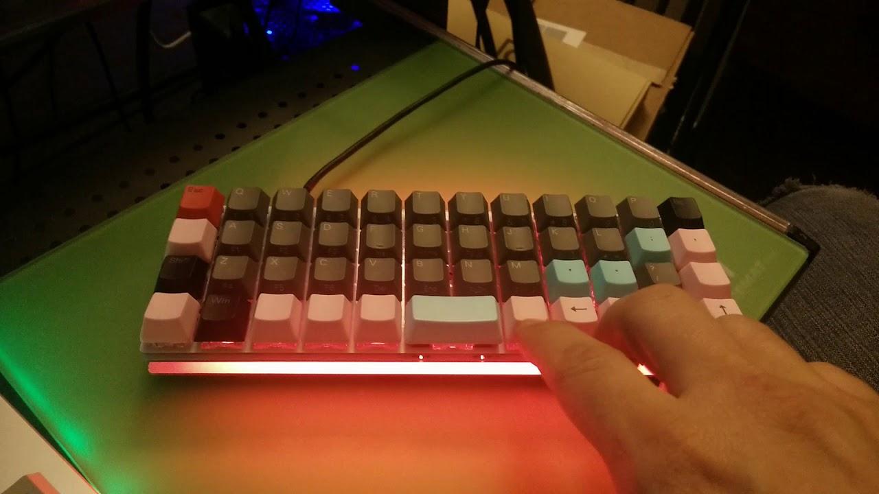 QMK mod for RGB animation speed