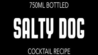 """Best Diy Bottled """"salty Dog"""" Cocktail Recipe [no. 052]"""
