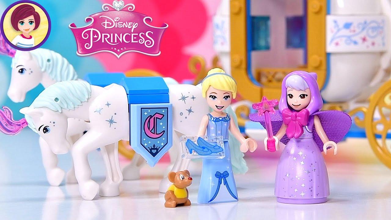 Possibly Cinderella's best carriage yet! Lego Disney Princess Cinderella's Royal Carriage Build