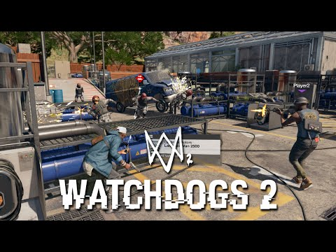 WATCH DOGS 2 BRAND NEW GAMEPLAY! (Watch Dogs 2 Multiplayer Gameplay)