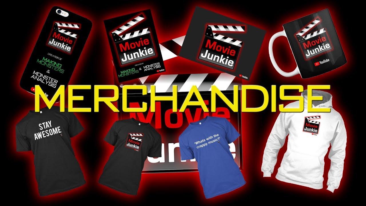 Movie Junkie - Merchandise!