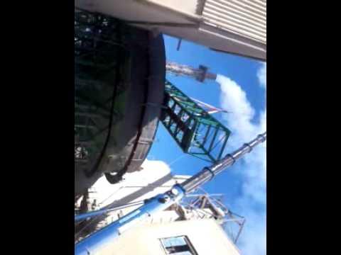 VIDEO levage et montage passerelle Projet OCP par DLM Adaptation