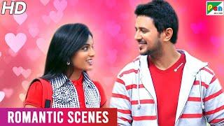 Chowrasta - The Four Way - Romantic Scenes | Hindi Dubbed Movie | Raja Abel, Soumya, Shruti