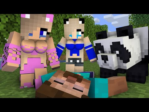 Herobrine life Episode 2 - Minecraft animation