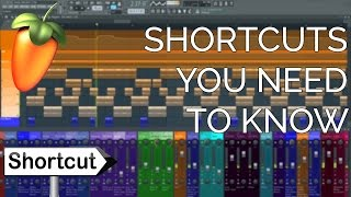 fl Studio 12 Shortcuts You Need To Know (FL Studio 12 Basics)