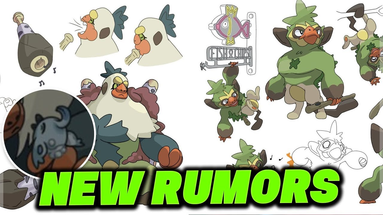 New Rumors And More For Pokemon Sword And Pokemon Shield Grookey