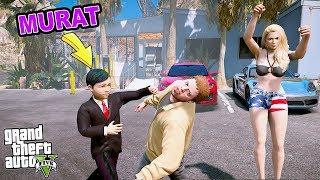 MURAT VE BEŞİR KIZ İÇİN KAVGA ETTİLER! - GTA 5 MURAT'IN HAYATI
