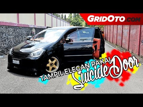 Toyota Innova Dimodif Makin Semok dan Elegan dengan Suicide Door