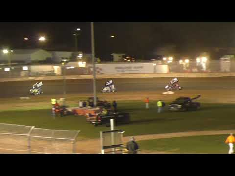 Plymouth Dirt Track IRA Lightning Sprints Feature 9-28-2019