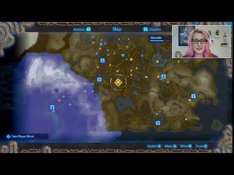 First Look At The Hyrule Warriors Age Of Calamity Map Youtube