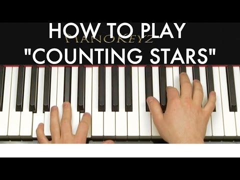 How To Play Counting Stars By Onerepublic On Piano