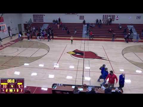 Nedrose High School vs. Velva High School Varsity Mens' Basketball